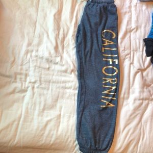"Ocean Drive ""California"" blue sweatpants!"
